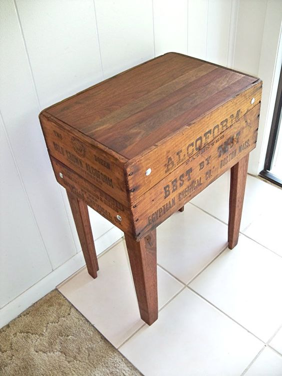 Great table idea   Craftiness decor amp such   Pinterest   Mesas