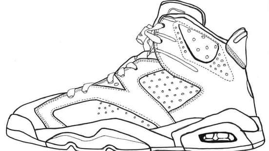 Omi Sengupta I Will Draw Beautiful Coloring Book Page For Kids For 5 On Fiverr Com In 2021 Sneakers Drawing Sneakers Sketch Shoes Drawing