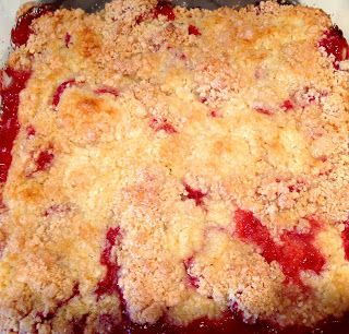Old-Fashioned Strawberry Cobbler #Recipe from @PegCochran