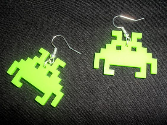 I would love to have these as a necklace.  Maybe have it as a packman or something.