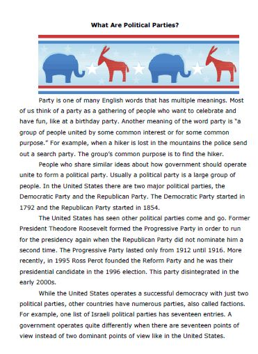 History of Political Parties in the United States (Post-Civil War ...