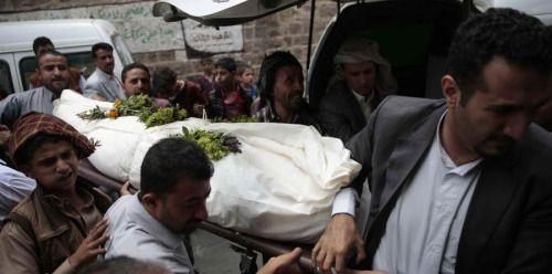 Padre convierte la boda de su hija en Yemen en una masacre...