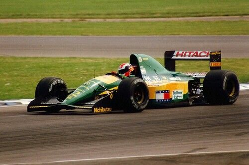 Johnny Herbert                                  LOTUS  107                                            FORD COSWORTH HB (NA 3.5L-V8)