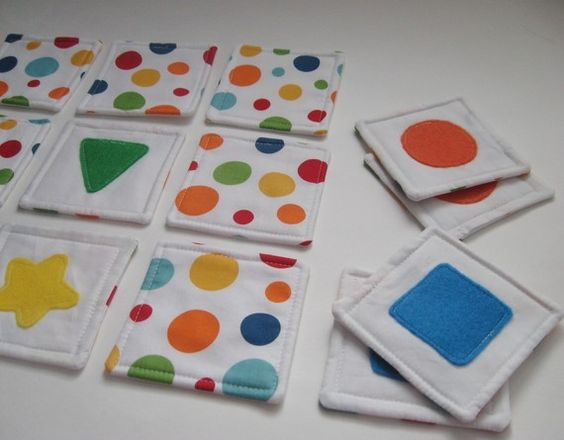 Memory Game- great kids gift....could so do quiet book page with these...Graison would love it: