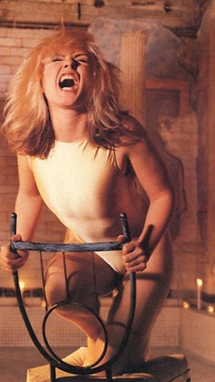 Debbie in Spin Magazine 1990