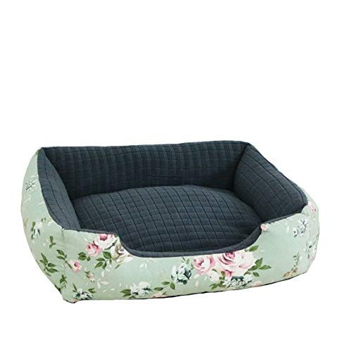 Dog S Bed Flower Pattern Dog S Bed Very Soft Dog Bed Removable