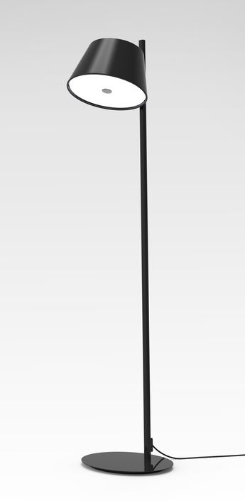 Lampadaire tam tam p noir h116cm marset normal