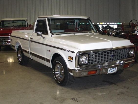 1967 72 White Chevy Maintenance Restoration Of Old Vintage