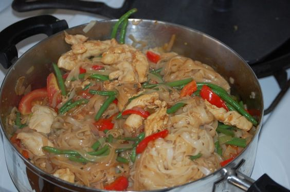 This recipe is from atasteofthai.com   Havent tried it yet, but its on my list of things to cook.  The site claims this is the Thai cure for a hangover.