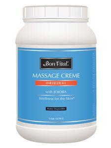 Bon Vital- Original Massage Cream 1 Gal