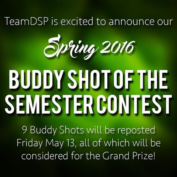 It's the end of the year and..... It's #buddyshotofthesemester time!