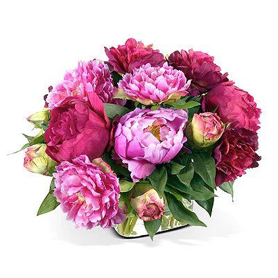 love this arrangement for a luncheon centerpiece