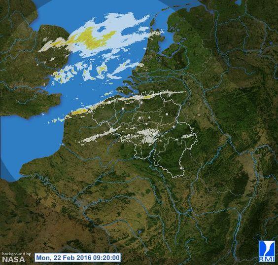 Radar composite Belgium