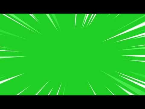 Anime Zoom Greenscreen Youtube Greenscreen Green Screen Video