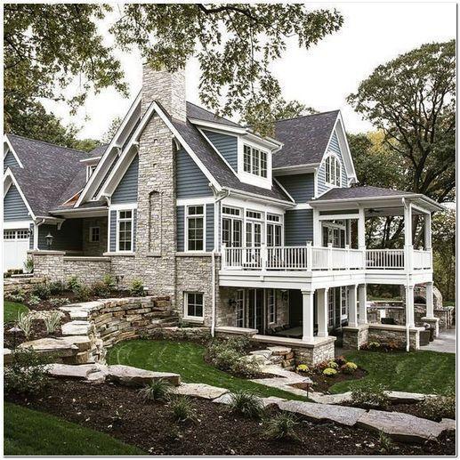 35 Inspiring Farmhouse House Design Housegoals 35 Inspiring Farmhouse House Design Awesome Top G In 2020 Modern Farmhouse Exterior House Exterior Farmhouse Exterior