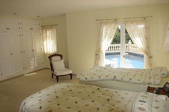 javea villa bedroom