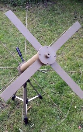 Uhf satcom diy x wing antenne die fertigstellung teil for Antenne interieur