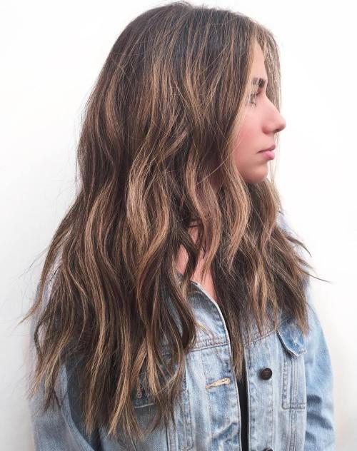 20 Head Turning Haircuts Und Frisuren Fur Langes Duckes Haar Haarschnitt Frisur Dicke Haare Dickere Haare