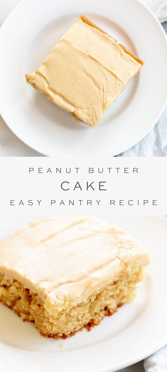 The Ultimate Peanut Butter Cake