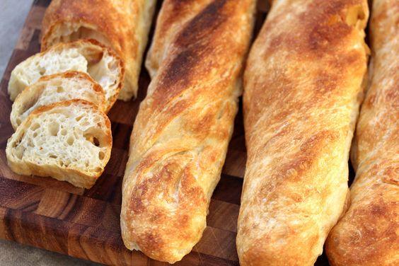 Karens Kitchen Stories: Pain à l'Ancienne Baguettes - gotta try this recipe!