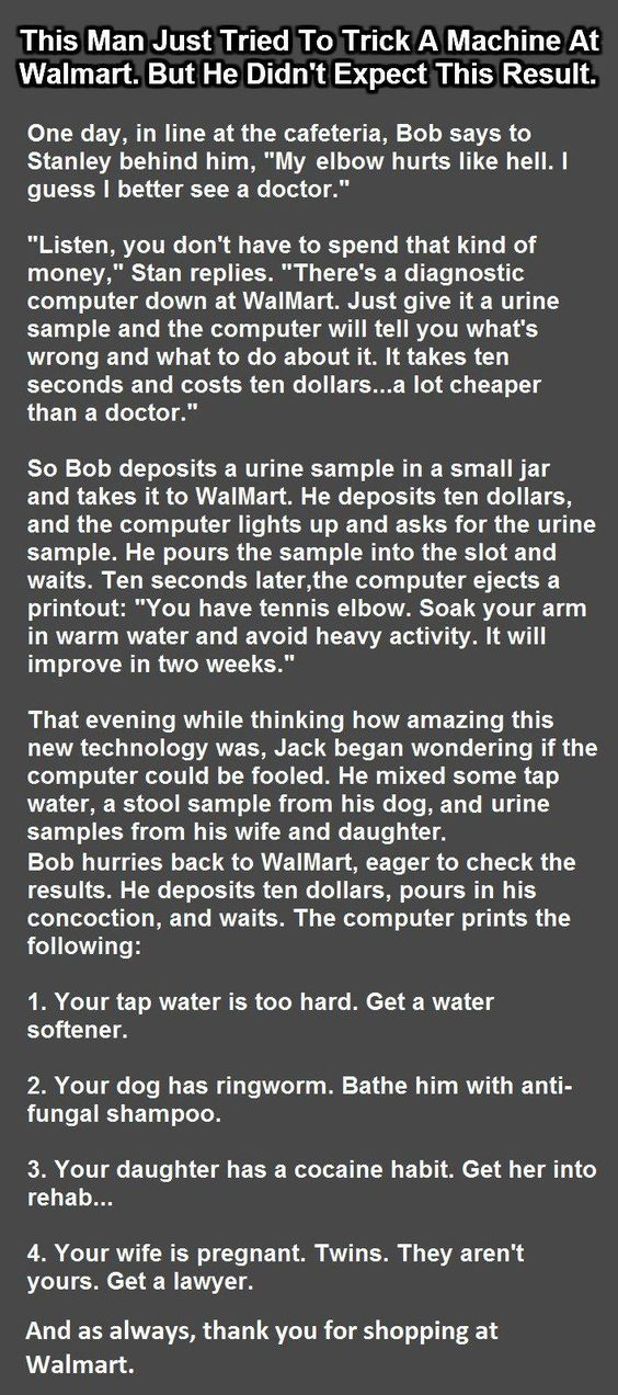 awesome ...man tries to trick walmart machine... by http://dezdemonhumoraddiction.space/walmart-humor/man-tries-to-trick-walmart-machine/
