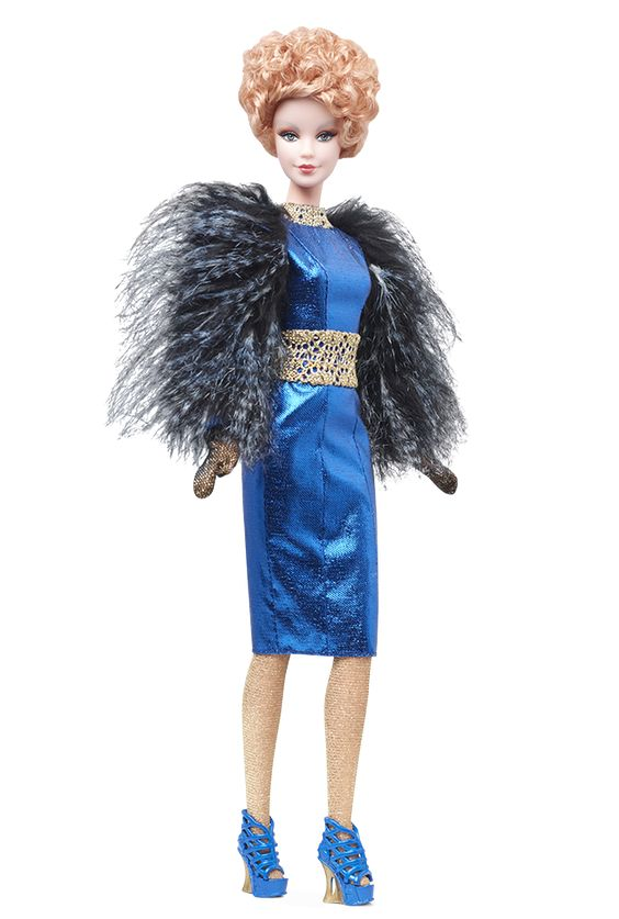 The odds will forever be in favor of this stunning Hunger Games doll. The Hunger Games: Catching Fire Effie Doll.