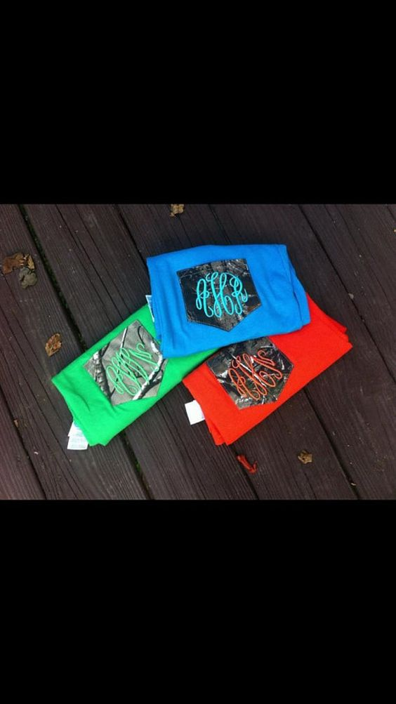 Plus Camo Pocket Shirt by SLMonograms on Etsy