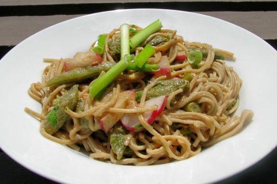Snow Peas and Soba Noodles | Recipe | Snow Peas, Soba Noodles and Snow