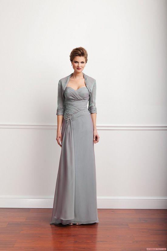 Sarah Danielle Older Bride Grey Wedding Dress New Bridal Dresses