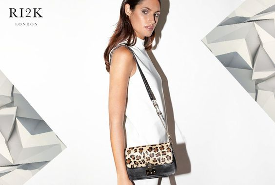 For affordable luxe choose #Kingsland #minibag. More at http://goo.gl/V5z51G  #RI2K #RI2KLondon #Handbag #Leather #Black #Leopard #ShopOnline #ShopRI2K #Fashion #Style #Designer #LeatherBags #ILoveBags #Accessories #FashionBlogger