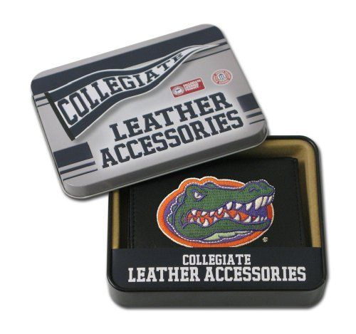 NCAA Florida Gators Embroidered Trifold Wallet by Rico. $21.08. Save 16% Off!