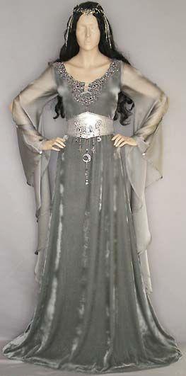 Morgana Le Fay Fantasykleid