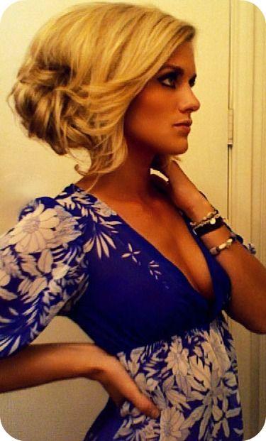 Hair makeup dress