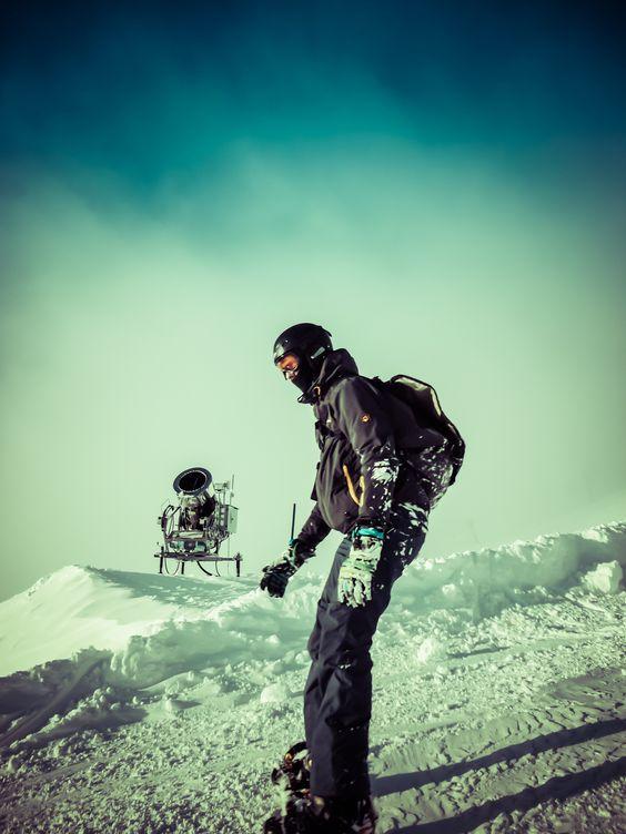 Robert Emmerich - 90 Johannes on the Snowboard- Möllertalgletscher Kärnten - Austria by Robert Emmerich on 500px