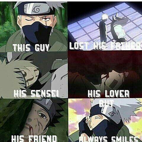 Poor Kakashi  #Naruto #Kakashi