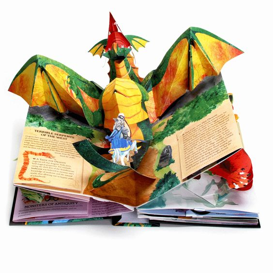 Dragons & Monsters Pop-up Book - Hardcover                                                                                                                                                      More