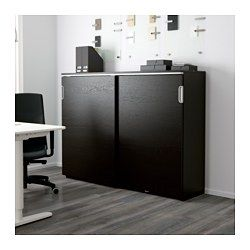 IKEA - GALANT, Élément à portes coulissantes, blanc, , Garantie 10 ans gratuite. Renseignements complets dans notre livret de garantie.Finition à l'arrière qui permet de placer le meuble au milieu d'une pièce.Pieds réglables assurant une grande stabilité même sur sols irréguliers.Portes équipées d'amortisseurs assurant une fermeture tout en douceur et sans bruit.L'espace derrière les tablettes permet de rassembler et de diriger les câbles vers le passe-câbles au…