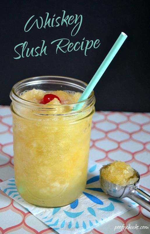 Whiskey Slush Recipe - The perfect summertime drink and ...