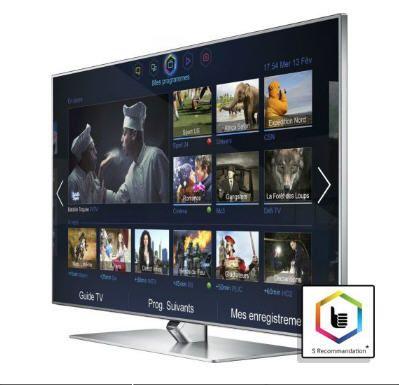 "TV écran plat LED 3D 46"" - 47"" SAMSUNG UE46F7000 3D Smart TV 800 Hz CMR prix promo Boulanger 1 490.00 € TTC"