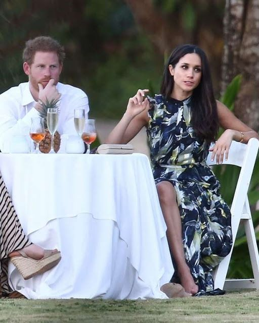 Prince Harry spent time with Meghan Markle