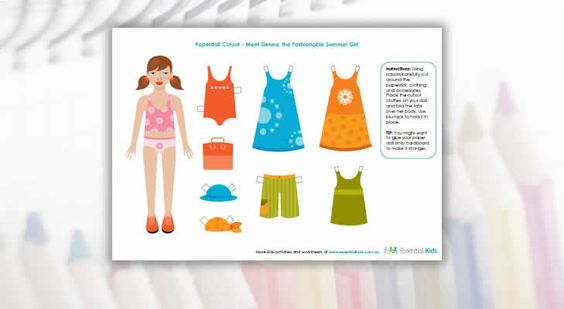 Cut out and dress Sienna