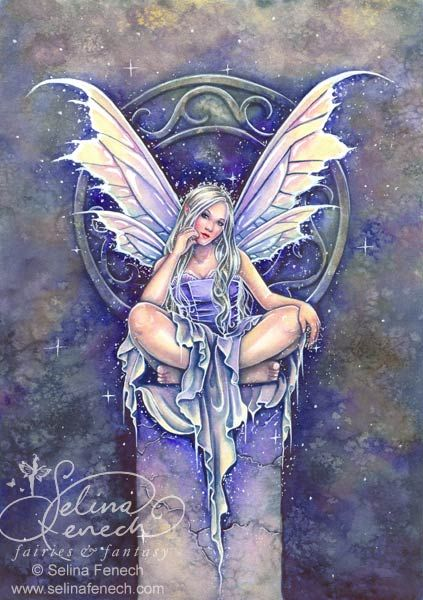 """Shimmer"" - Archives @ Selina Fenech – Fairy Art and Fantasy Art Gallery:"