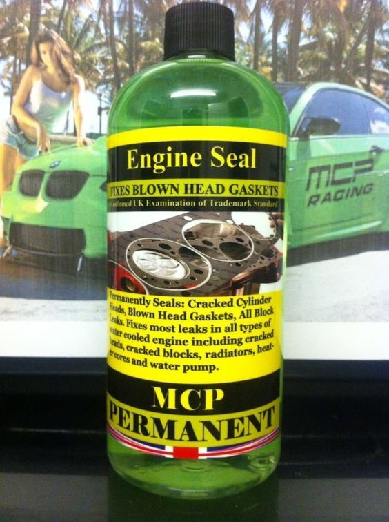 STEEL SEAL HEAD GASKET REPAIR,,,ENGINE SEAL,,MCP ,,PROFESSIONAL ,2x16 OZ BOTTLES…