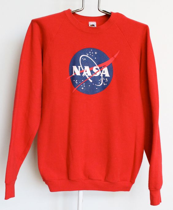 NASA Sweatshirt Shirt Mens Large Vintage 80s Womens Unisex | Shirt men, Shirts and Sweatshirts