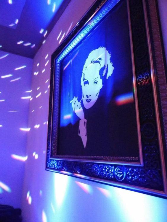 Marlene in blau...