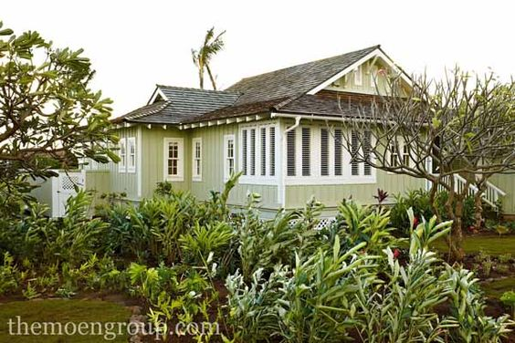 Tropical houses tropical gardens and welcome home on for Hawaii house plans
