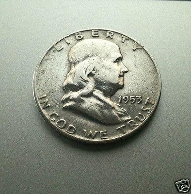 1953 Half Dollar-1953 D ...