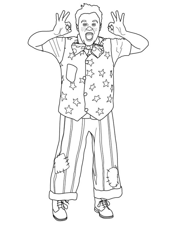 Mister Maker Coloring Pages Coloring Pages Mister Maker Colouring Pages