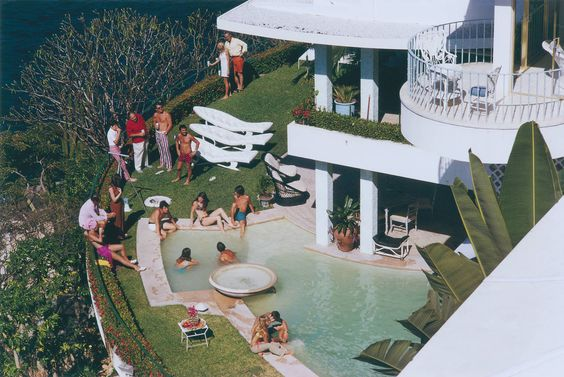 Clifftop Pool (Aarons Estate Edition) | From a unique collection of color photography at https://www.1stdibs.com/art/photography/color-photography/: