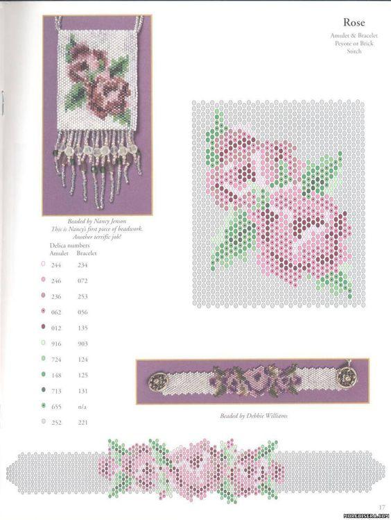Схемы цветов мозаичным плетением - Цветы - Схемы плетения бисером - Сокровищница статей - Плетение бисером украшений, деревьев и цветов, схемы мк: